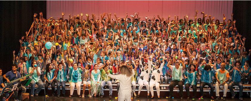 Concierto 'Cantos del agua', acompañado por 300 niños caleños