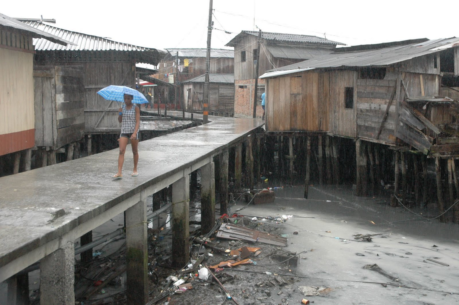 Fuertes lluvias dejaron 23 casas afectadas en Buenaventura