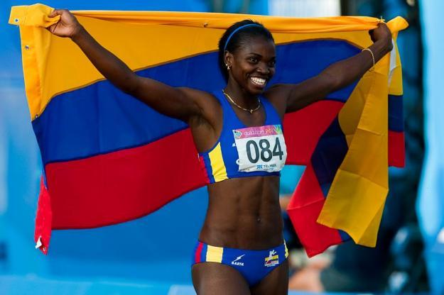 Caterine Ibargüen fue elegida como la 'Mujer Deportista del Año 2014'