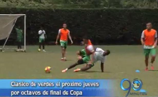 Deportivo Cali se prepara para enfrentar a Nacional por Copa Postobón