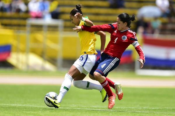 Colombia logró subtitulo de la Copa América Femenina 2014