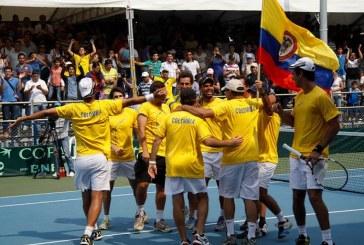 Colombia recibirá a Suecia en la primera fase de Grupo Mundial de Copa Davis