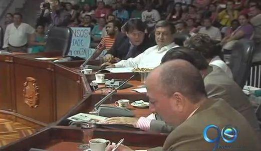 Debate en el Concejo por la reubicación de habitantes del jarillón