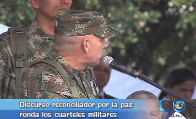 Baja el tono guerrerista en los discursos de los militares