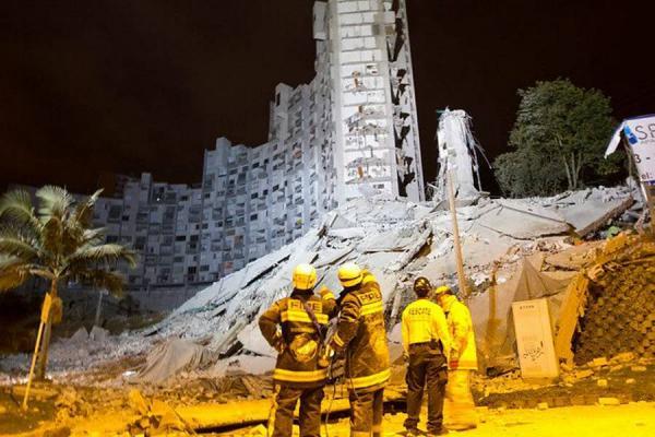 Se efectuó la demolición de las etapas restantes del edificio Space