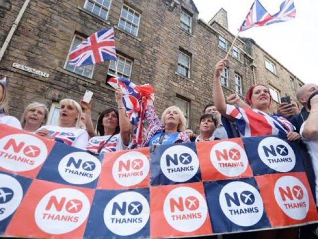 Terminados los escrutionos el No ganó y el Reino Unido no se separa