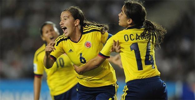 Selección Colombia femenina goleó a Venezuela y es líder del Grupo A