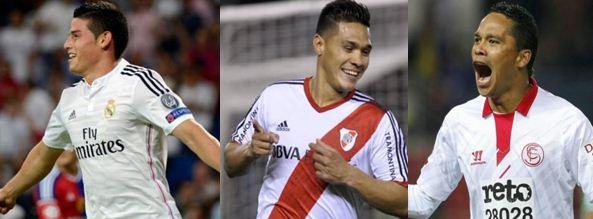 James, 'Teo' y Bacca marcaron en esta jornada del fútbol internacional