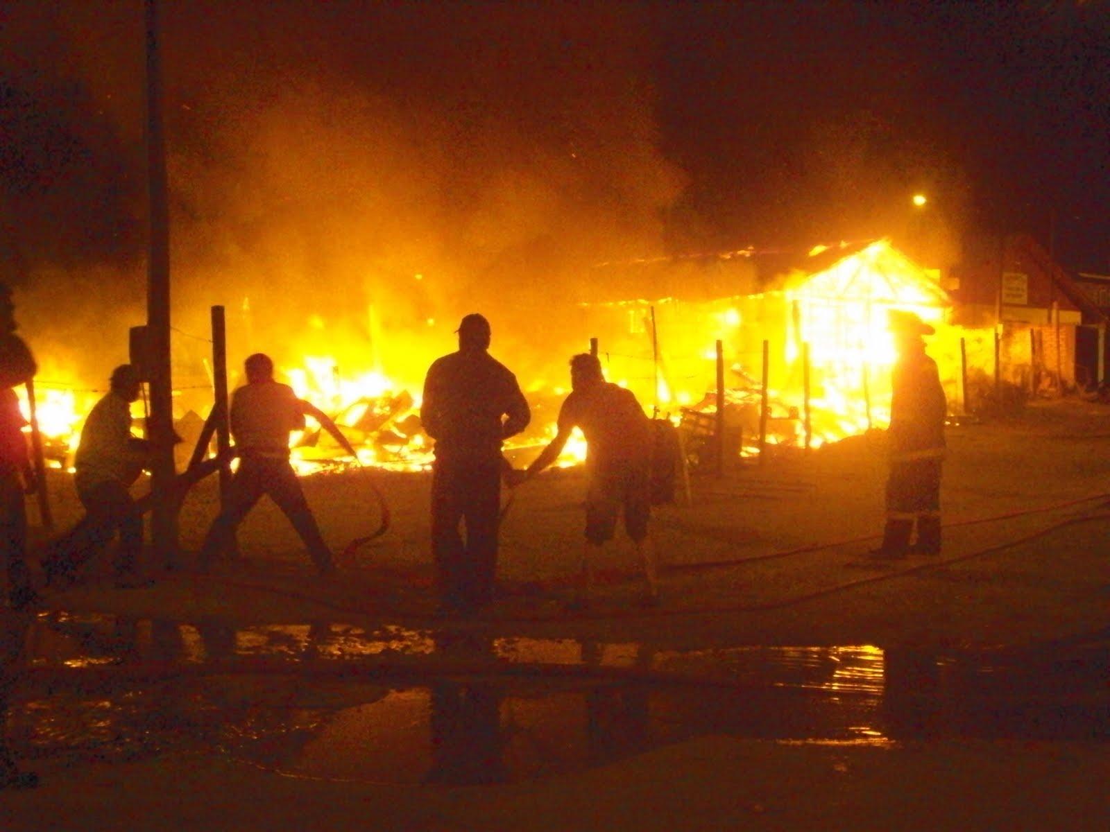 Incendio en el norte de Popayán dejó 55 viviendas afectadas