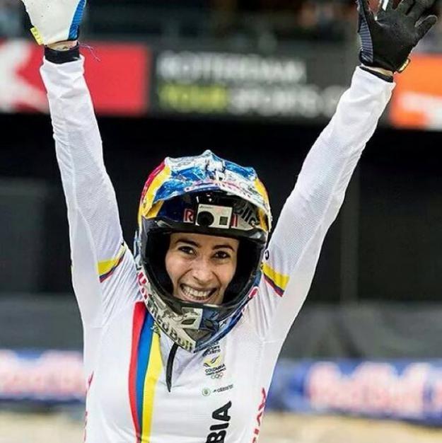 Mariana Pajón ganó dos oros para Colombia en Copa Mundo de BMX
