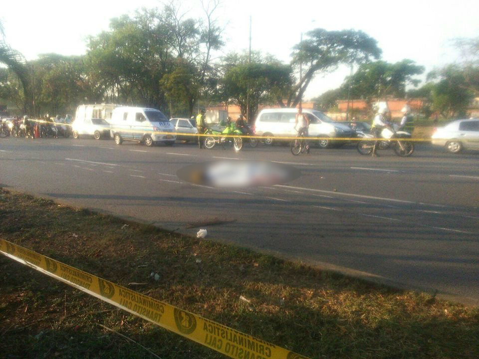 Accidente de tránsito en Calima dejó un motociclista muerto