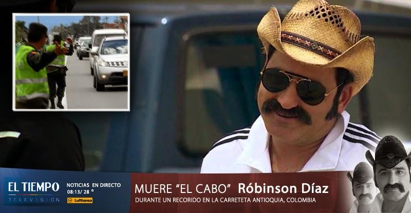 """No sabía que estaba muerto"": dijo Robinson Díaz ante falsa noticia"