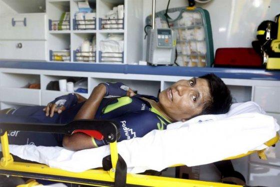 El colombiano Nairo Quintana le da fin a su temporada