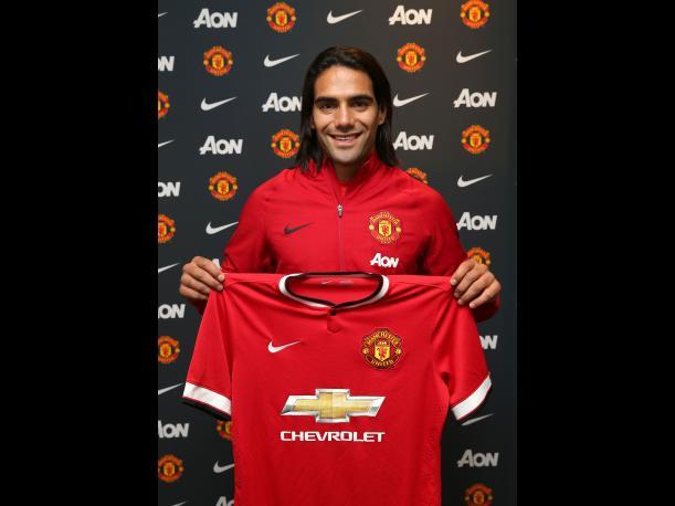"""""""Estoy encantado de unirme al Manchester United"""", Falcao"""