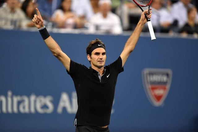 Federer derrotó a Monfils y avanza a semifinales del US Open