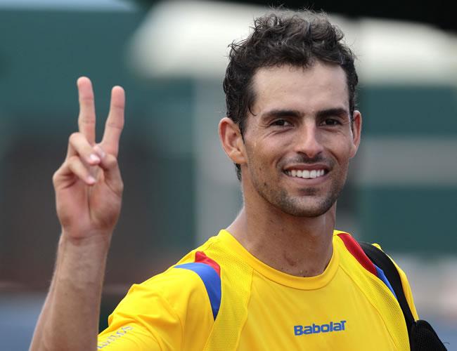 Santiago Giraldo pasó a octavos de final del ATP 250 de Shenzhen