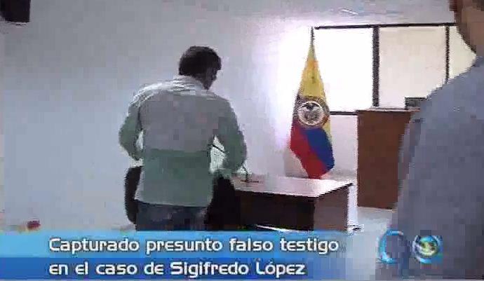 Capturado presunto falso testigo en el caso de Sigifredo López
