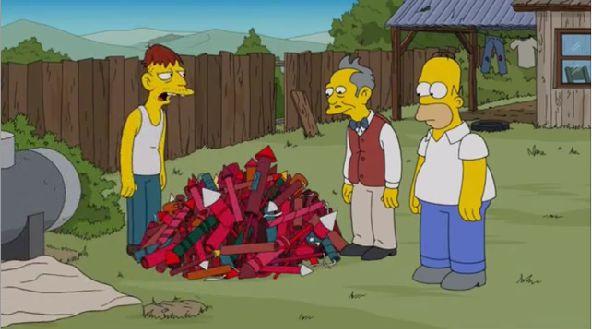 Escena en Los Simpson hace referencia a Pablo Escobar