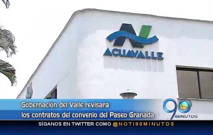 Gobernador del Valle cuestiona convenio de Acuavalle y Emcali
