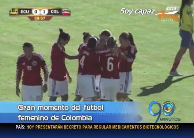 Un vallecaucano lidera el gran momento del fútbol femenino de Colombia