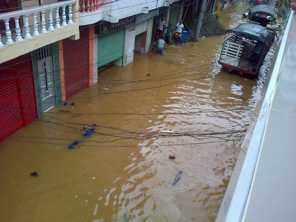 Emergencia en Barbacoas, Nariño por intensas lluvias