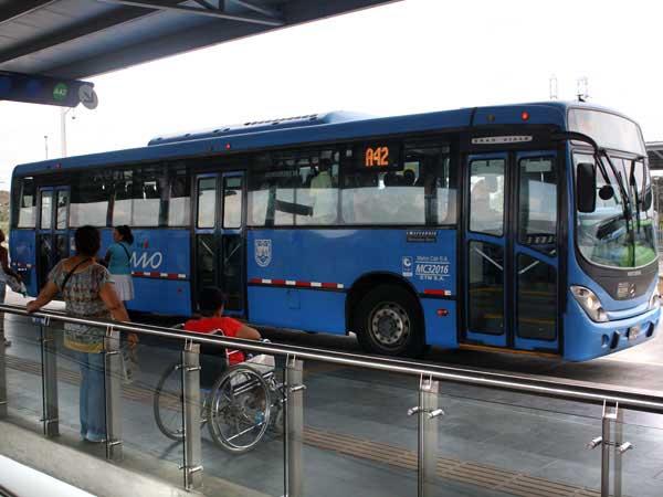 El sistema MÍO presentó modificaciones en siete rutas