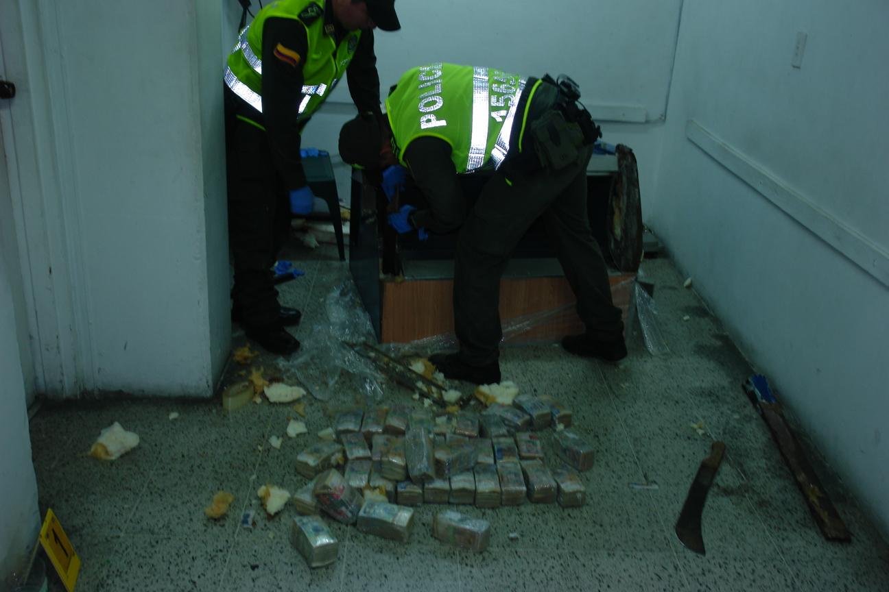 Policía de Cali incautó más de mil millones de pesos