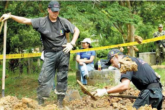 Hallan fosa común en Jambaló, Cauca, tendría más de 20 años.