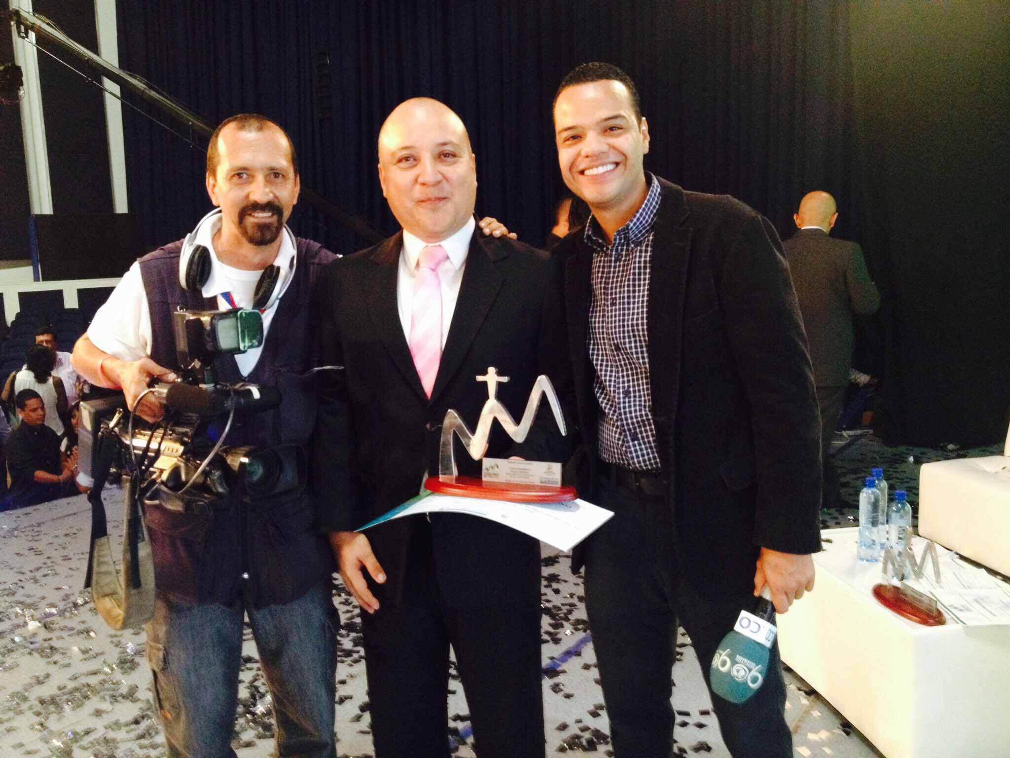 Periodista de 90 Minutos gana Premio Farallones de Cali 2014