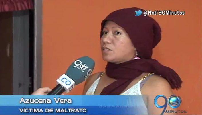 Mujer maltratada denuncia falta de protección de autoridades