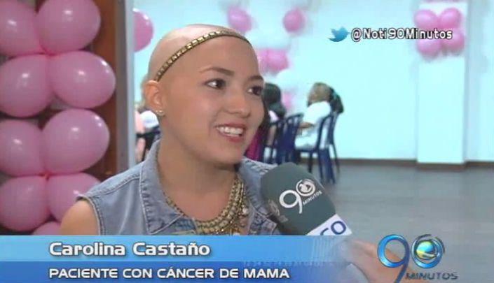 Una mujer es ejemplo de superación en la lucha contra el cáncer de mama