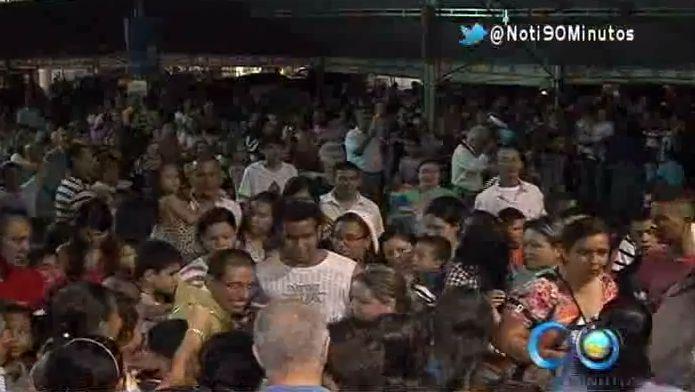 El Padre Felipe se despide de sus feligreses del Valle del Lili