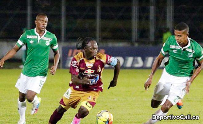 Los verdiblancos remontaron y ganaron de visitantes 2-3 ante el Tolima