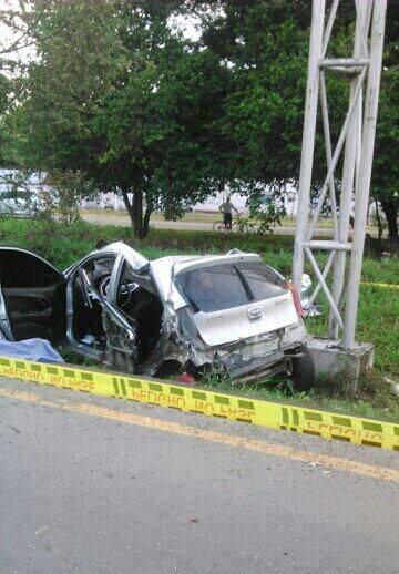 Dos mujeres muertas en accidente de tránsito en Buga