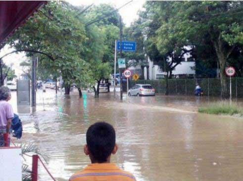 Conozca el balance de daños tras las fuertes lluvias del lunes