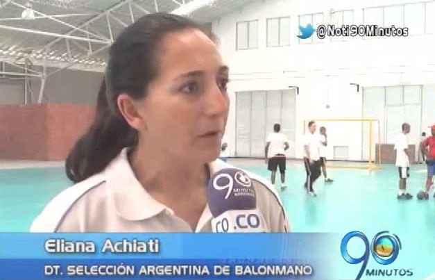 Este martes inició el Suramericano de Balonmano en Palmira