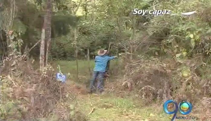 Campesino despojado de su tierra regresó luego de 16 años