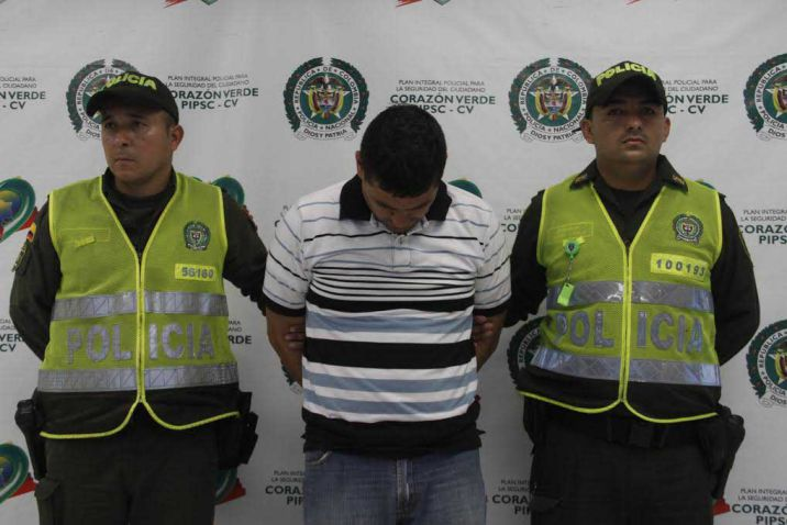 Capturan a alias 'Krosty' solicitado por el delito de homicidio agravado