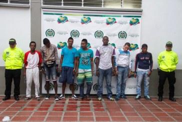 Caen ocho miembros de banda de sicarios en Cali
