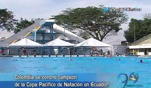 Colombia se coronó campeón en la Copa Pacífico de Natación