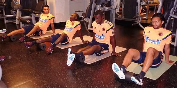 Los 24 jugadores de la selección Colombia ya se entrenan en EE.UU.
