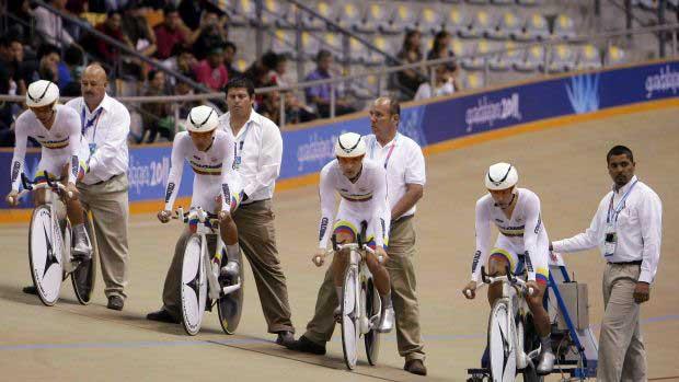 Cali está lista para la Copa Colombia de Ciclismo en pista