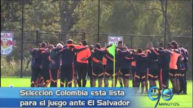 Colombia lista para enfrentar el viernes a El Salvador