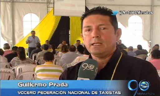 Taxistas expusieron inconformidades en el primer Congreso Nacional