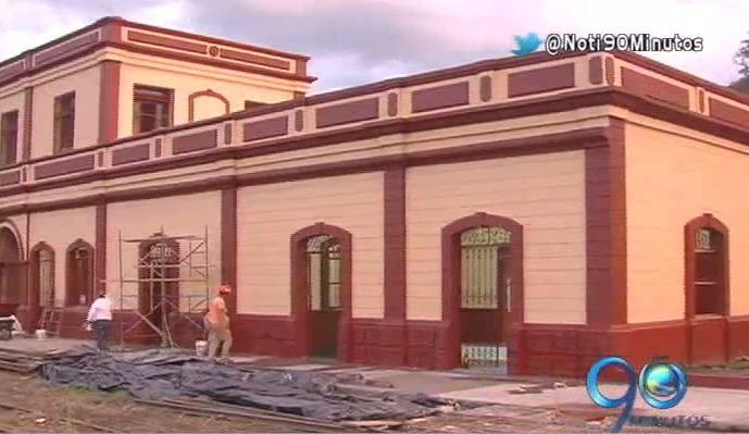 La Estación del Ferrocarril de Cartago tiene una nueva cara