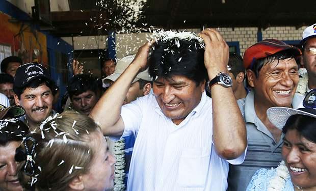 Bolivia reeligió a Evo Morales por tercera vez consecutiva