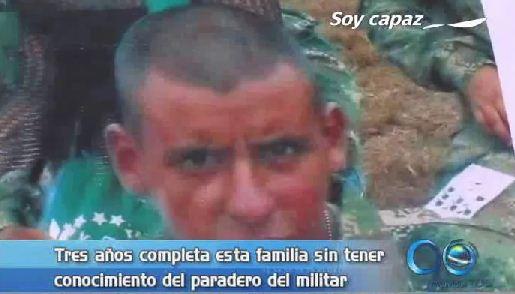 Familia lleva tres años sin saber del paradero de un militar