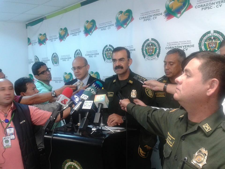 General Palomino en Cali pide colaboración ciudadana