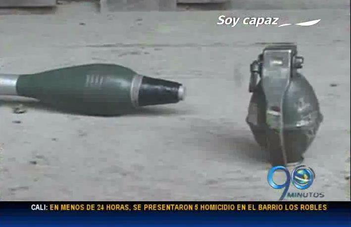 Ejército incauta 3 toneladas de explosivos de las Farc en Nariño