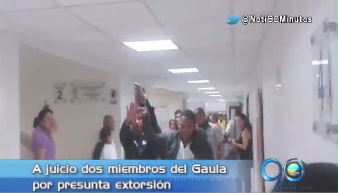 Capturan a dos policías del Gaula sindicados de extorsión
